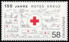 FRG MiNo. 2998 ** 150 years Red Cross, MNH