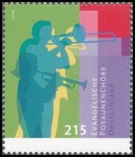 FRG MiNo. 3065 ** Evangelical trombone choirs, MNH