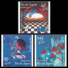FRG MiNo. 3096-3098 ** Youth 2014: The Dream Eater by Ende, MNH