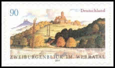 FRG MiNo. 2856 Twocastle-view in the Werra valley, MNH, self-adhesive