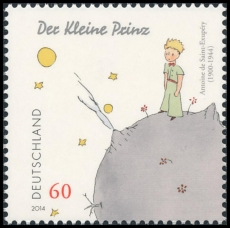 FRG MiNo. 3102 ** Antoine de Saint-Exupéry: The Little Prince, MNH