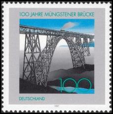 FRG MiNo. 1931 ** Bridges (I): 100 years Müngstener Brücke, MNH