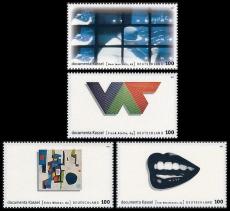 FRG MiNo. 1927-1930 set ** 10th documenta Kassel, from block 39, MNH
