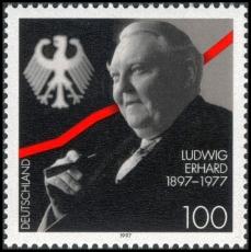 FRG MiNo. 1904 ** 100th birthday of Ludwig Erhard, MNH