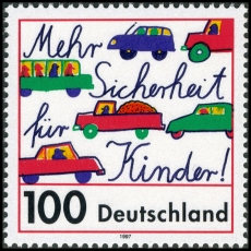 FRG MiNo. 1897 ** More safety for children in road traffic, MNH