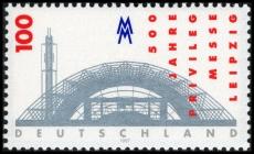 FRG MiNo. 1905 ** 500 years trade fair privilege for Leipzig, MNH