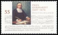 FRG MiNo. 2592 ** 400th birthday of Paul Gerhardt, MNH