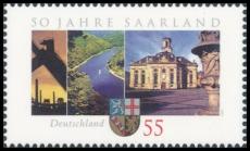 FRG MiNo. 2581 ** 50 years State of Saarland, MNH