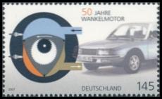 BRD MiNr. 2582 ** 50 Jahre Wankelmotor, postfrisch