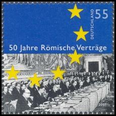FRG MiNo. 2593 ** 50 Years Rome treaty, MNH