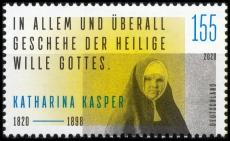 BRD MiNr. 3548 ** 200. Geburtstag von Katharina Kasper, postfrisch