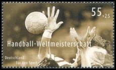 FRG MiNo. 2578 ** Sports Aid 2007: Handball World Championship Germany, MNH