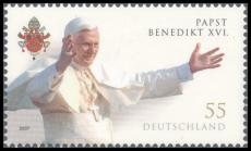 FRG MiNo. 2599 ** 80th anniversary of Pope Benedict XVI., MNH