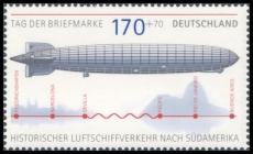 FRG MiNo. 2589 ** Stamp Day 2007: Graf Zeppelin, from sheetlet 69, MNH