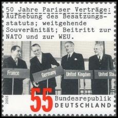 FRG MiNo. 2459 ** 50 years Treaties of Paris, MNH