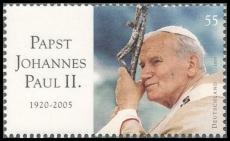 FRG MiNo. 2460 ** Death of Pope John Paul II., MNH