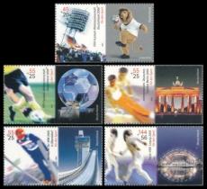 FRG MiNo. 2439-2443 set ** Sports Aid 2005,  MNH