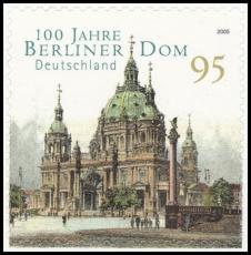 FRG MiNo. 2446 ** 100 years Berlin Cathedral, MNH, self-adhesive, from set