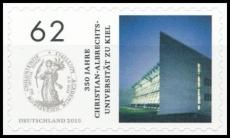BRD MiNr. 3155 ** 350 J. Chr.-Albr.-Universität zu Kiel , postfr., selbstklebend