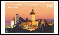 FRG MiNo. 2978 ** Castles & Palaces: Kaiserburg Nürnb., MNH, self-adhesive