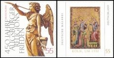 FRG MiNo. 2700-2701 set ** Winter angel & painting, MNH, self-adhesive