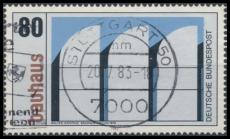 FRG MiNo. 1166 o Bauhaus: 100th birthday of Walter Gropius, postmarked