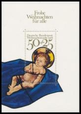 FRG MiNo. Block 17 (989) ** Christmas 1978, sheetlet, MNH