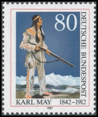 FRG MiNo. 1314 ** May, Karl, MNH