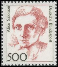 FRG MiNo. 1397 ** Women in German history, MNH