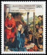 FRG MiNo. 3184 ** Treasures from German Museums: Birth of Jesus Christ, MNH