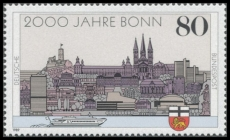 FRG MiNo. 1402 ** 2000 years Bonn, MNH