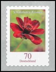 FRG MiNo. 3197 ** Series: Cosmos atrosanguineus, MNH, self-adhesive, from box
