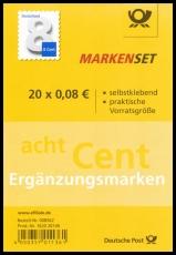 FRG MiNo. FB 51 (3196) ** Supplement value 8 ct, Foil sheet, self-adhesive, MNH