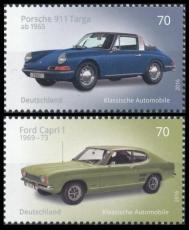 FRG MiNo. 3201-3202 set ** Series Classical German automobiles, MNH
