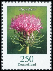 FRG MiNo. 3199 ** Definitives flowers: Alpine Thistle, MNH