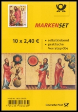 FRG MiNo. MH  99 ** Treasures German Museums, stamp booklet, self-adhesive, MNH