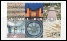FRG MiNo. 3221 ** 1250 years Schwetzingen, MNH, self-adhesive