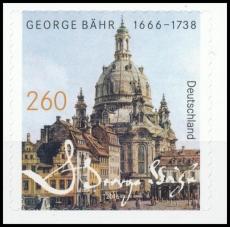 FRG MiNo. 3224 ** 350th birthday George Bähr, MNH, self-adhesive