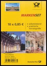 FRG MiNo. FB 56 (3231) ** Schloss Sanssouci, foil sheet, self-adhesive, MNH