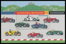 FRG MiNo. Block 75 (2754) ** Historic Motorsport, Miniature sheet, MNH