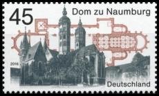 FRG MiNo. 3264 ** cathedral of Naumburg, MNH