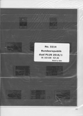 SAFE 321416/1 dual plus Supplement Fed. Rep. Germany part 1 of 2016 page 222-226
