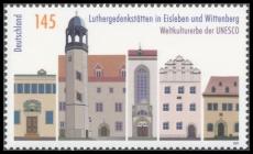 FRG MiNo. 2736 ** UNESCO World Heritage Sites: Luther Memorials , MNH