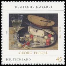 FRG MiNo. 2761 ** German painting: Georg Flegel, MNH