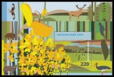 FRG MiNo. Block 74 (2737) ** German parks: Eifel National Park, sheetlet, MNH