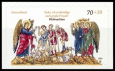 FRG MiNo. 3268 ** Christmas 2016: The shepherds in the field, MNH, self-adhesive
