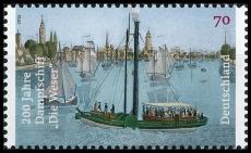 BRD MiNr. 3273 ** 200 Jahre Dampfschiff Die Weser, postfrisch