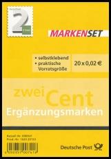 FRG MiNo. FB 34 (3045) ** Supplement value 2 ct, foil sheet, self-adhesive, MNH