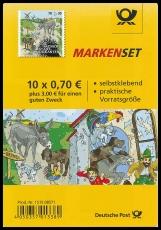 FRG MiNo. MH 105 (3287) ** Welfare 2017, stamp set, self-adhesive, MNH