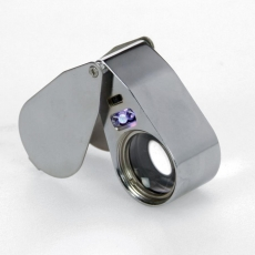 SAFE 4640 UV Precision Magnifier40 x with LED & UV light, fluorescence detection
